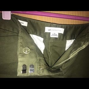 Liz Claiborne Green Dress Pants